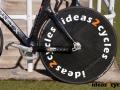 Carbon fiber disc wheel